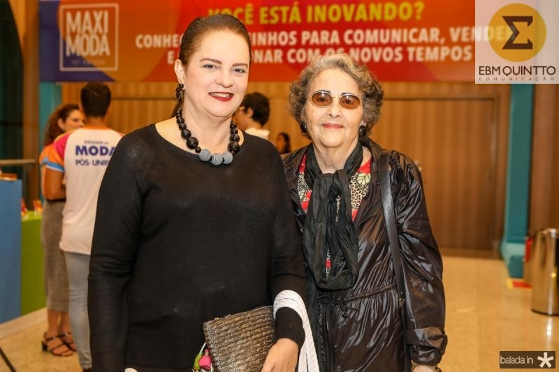Ethel Whitehust e Glaucia Mota
