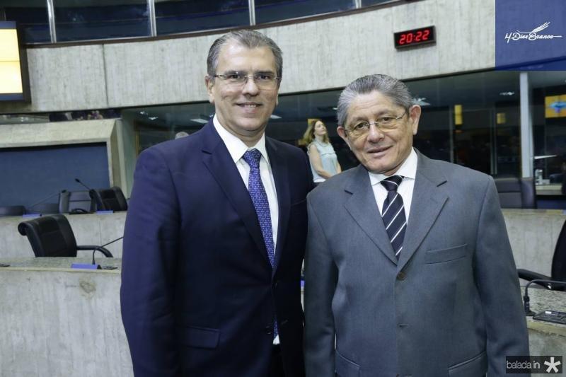 Randal Pompeu e Joao Batista de Lima