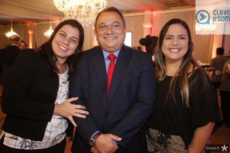 Renata Sampaio, Moacir Maia e Fernanda Feitosa