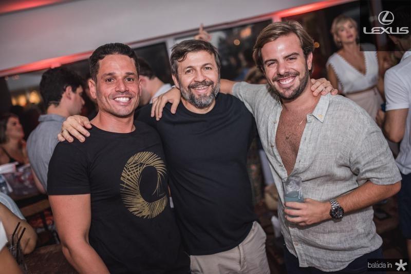 Rafael Sa, Elcio batista e Claudio nelson