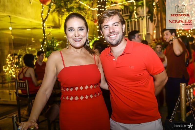 Patricia Macedo e Claudio Nelson