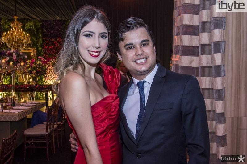 Amanda Rodrigues e Ricardo Freitas