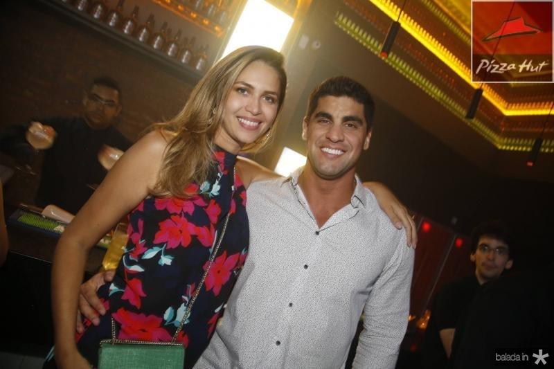 Viviane Prado e Cesar Salazar