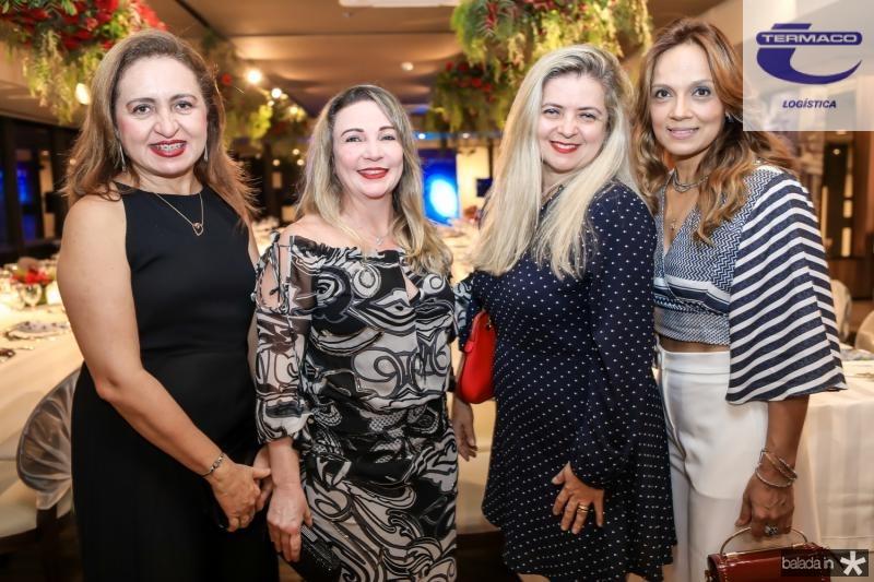 Ilzimar Belo, Denise Pimentel, Idina Holanda e Cristina Tavares