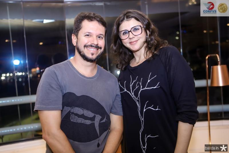Cristiano Bezerra e Aline Goes