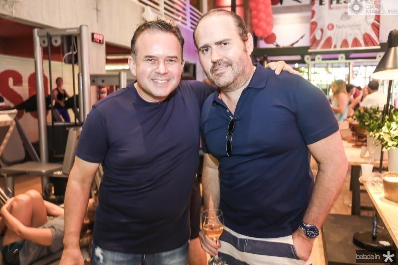 Roger Albuquerque e Roberto Pamplona