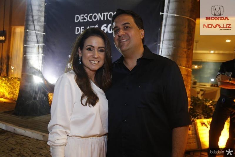 Claudiana e Rodrigo Loureiro