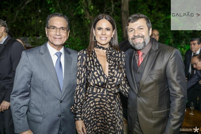 Beto Studart, Luciana Sousa e Elcio Batista