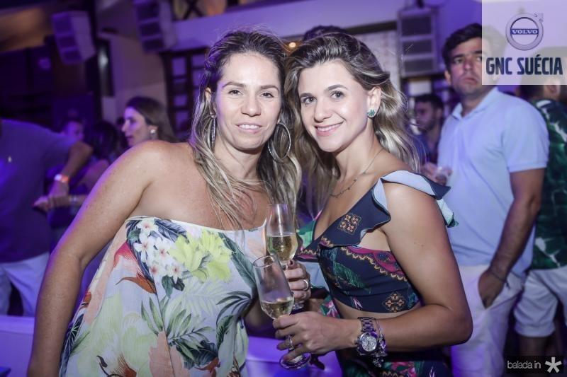 Carol Picanço e Aline Vasquez