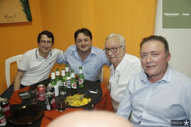 Roberto Victor, Benigno Junior, Fernando Maia e Darlan Leite