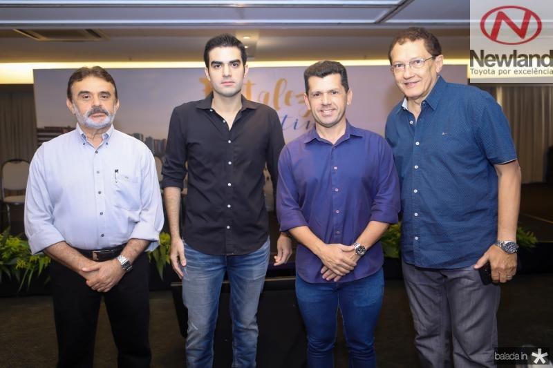 Azevedo Vieira, Rodrigo Nogueira, Erick Vasconcelos e Elpidio Nogueira