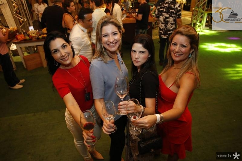 Danielly Linheiro, Leiliane Pinheiro, Marilia Vasconcelos e Tatiana Luna 2