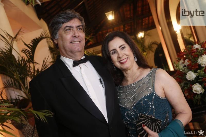 Hugo e Valeria Grangeiro