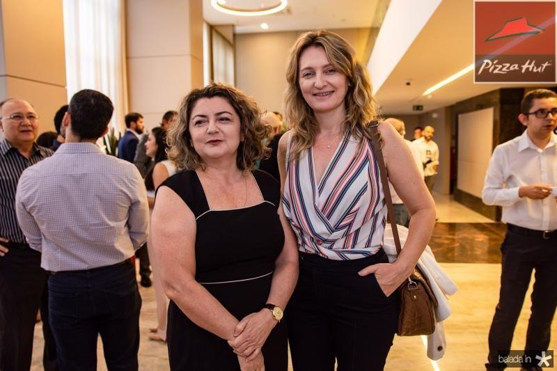 Francisca Lemos e Monica Heuser