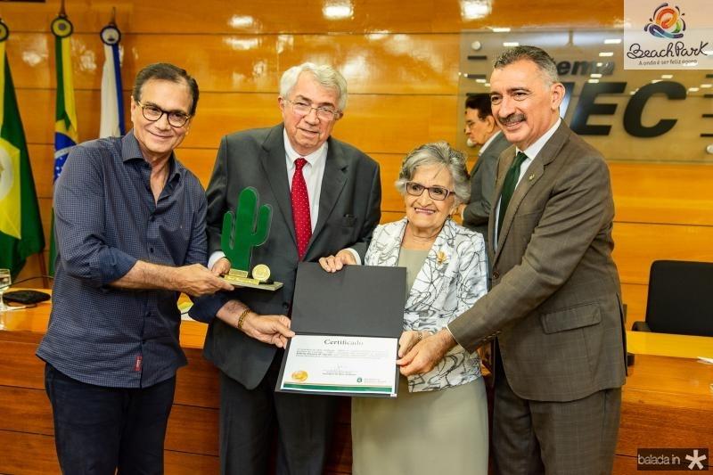 Beto Studart, Roberto Macedo, Dolores Feitosa e Artur Bruno
