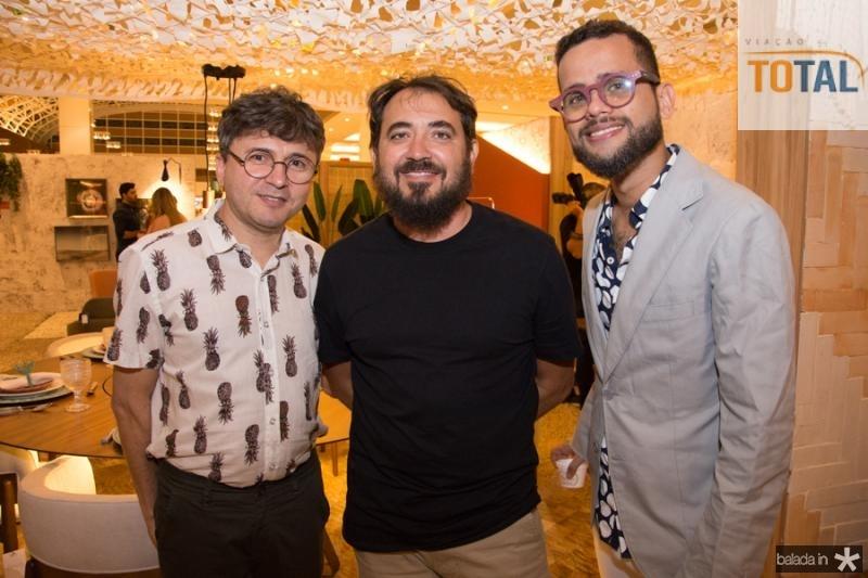 Lindemberg Fernandes, Roberto Kened e Guipson Pinheiro Neto