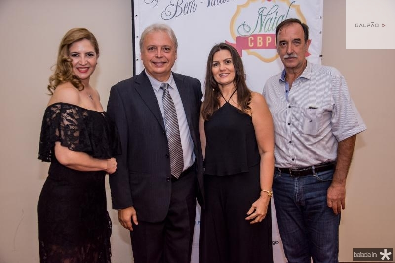 Enid Camara, Welington Nunes, Erilania Nunes e Armando Abreu