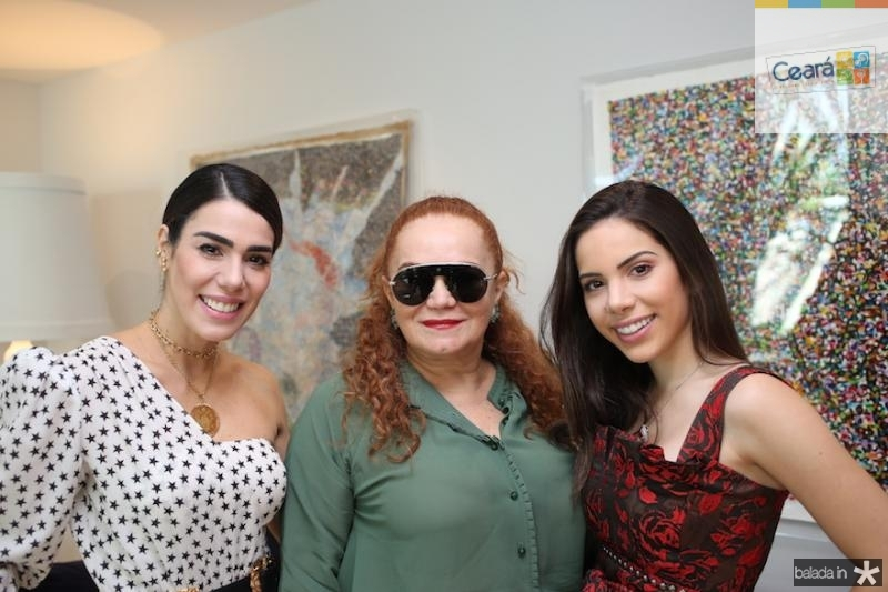 Juliana Cordeiro, Lisieux Brasileiro e Nicole Vasconcelos