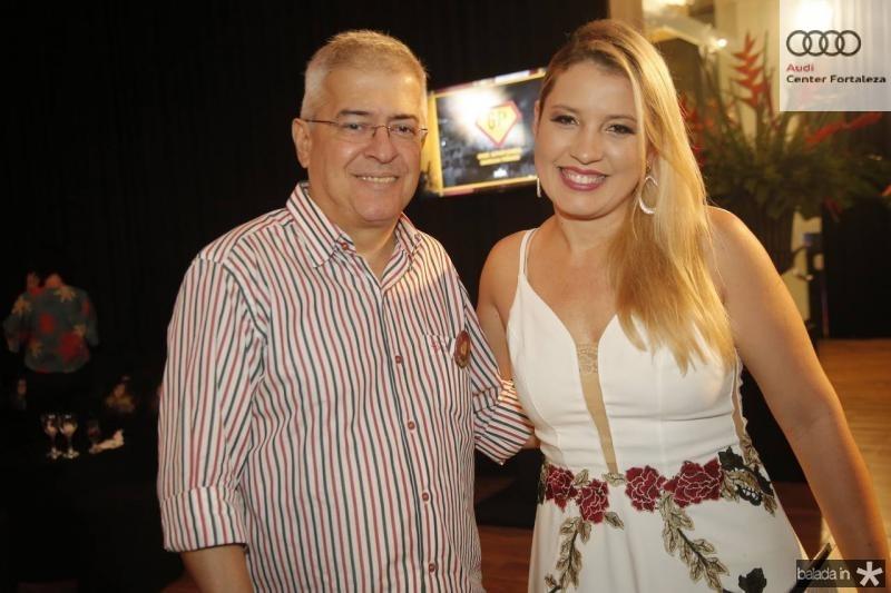 PC Noroes e Natalia Varela