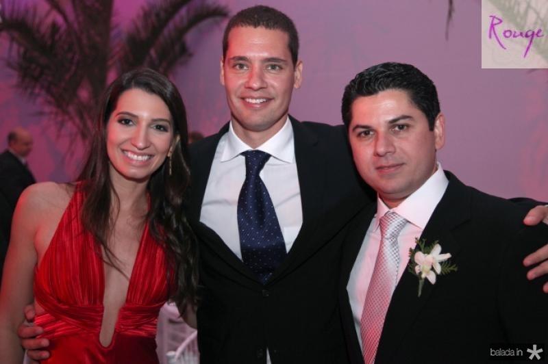 Juliana e Renan Braga e Pompeu Vasconcelos