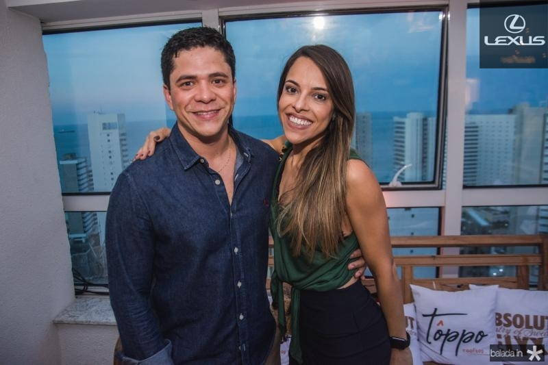 Bruno Mota e Barbara linhares