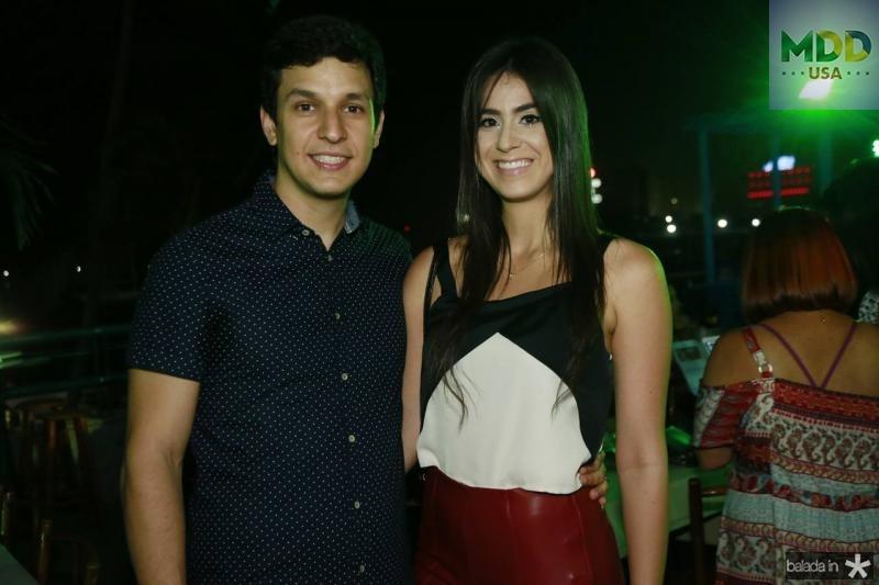 Enio Correa e Priscila Paiva