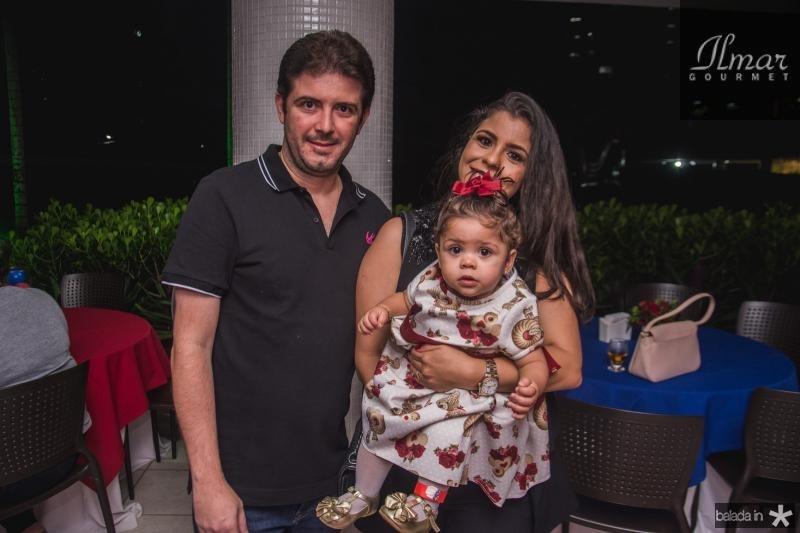 Eduardo, Maria Giovana e Gabriele Brandao