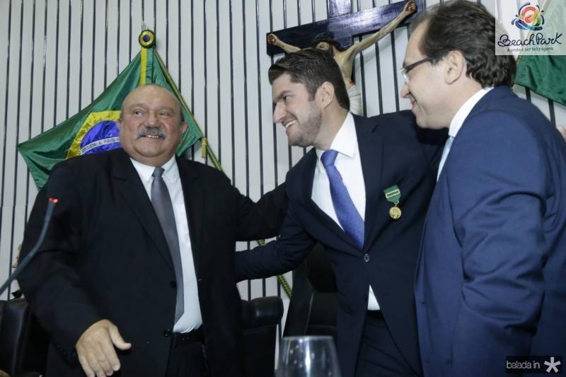 Fernando Hugo, Paulo Jose Benevides e Carlos Matos