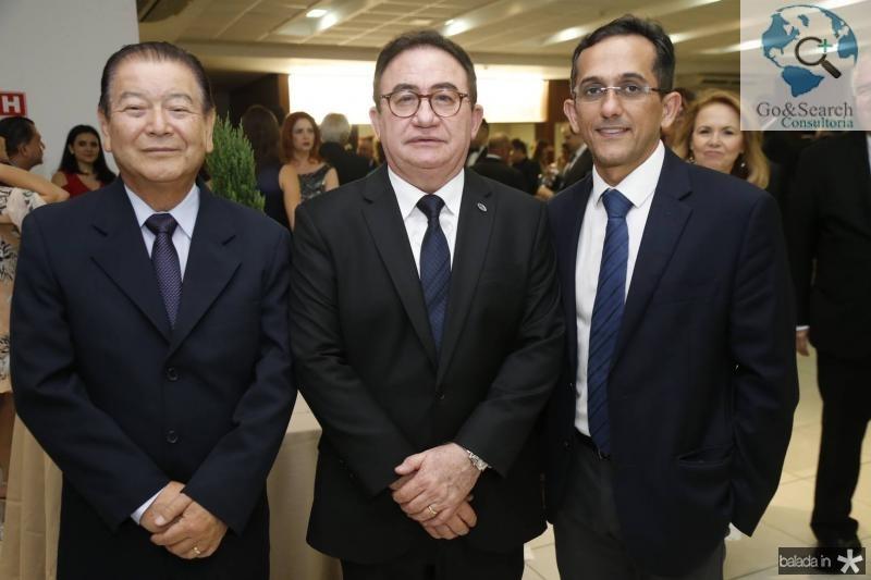 Orlando Cubo, Manoel Linhares e Jose Odecio