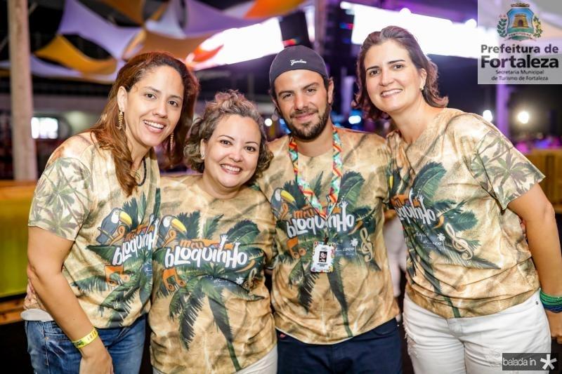 Cristina Machado, Joana Nogueira, Claudio Nelson e Manoela Nogueira