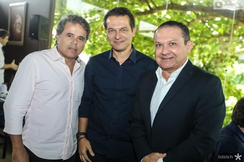 Ivan Bezerra, Claudio Moreira e Max Bezerra