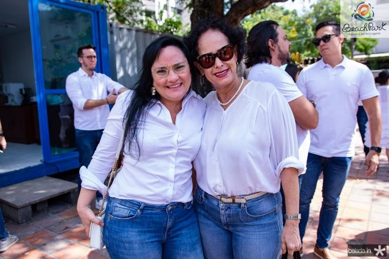 Kelly Teixeira e Kacy Saldanha