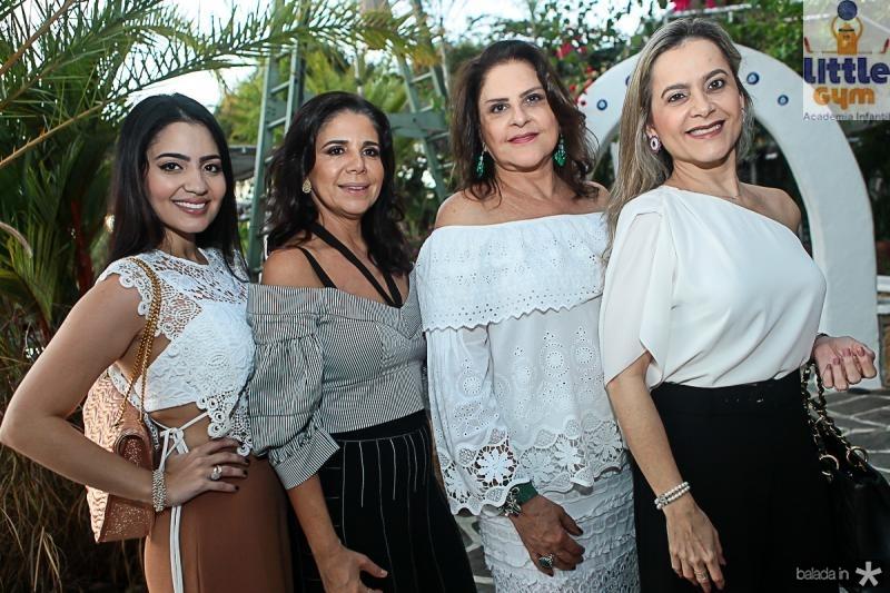 Carolina Ary, Maria Lucia Negrao, Celina Fiuza e Cristiane Ary
