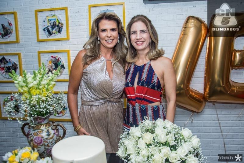 Alexandra Pinto e Karmilse Marinho