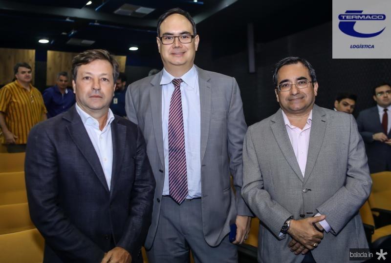 Fernando Alfredo, Adriano Costa e Jardson Cruz