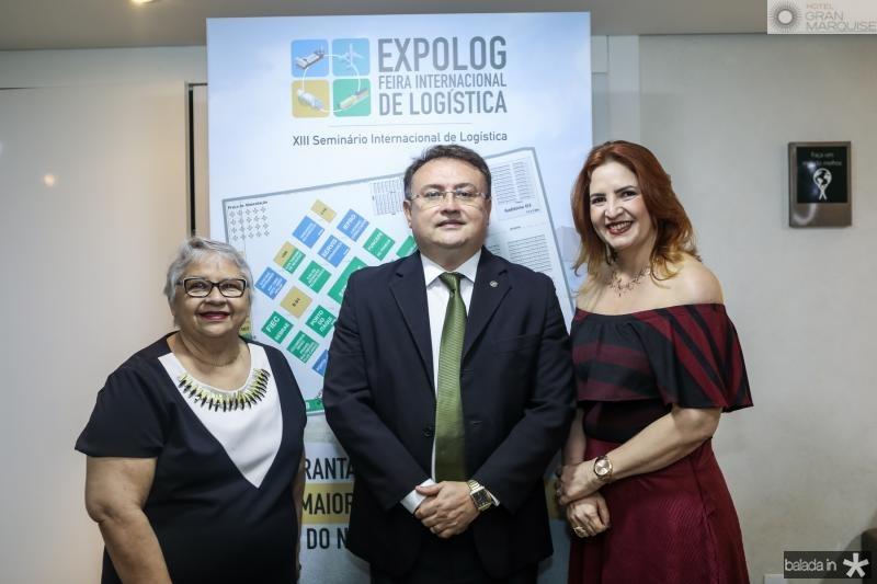 Gloria Ribeiro, Marcelo Marinho e Enid Camara