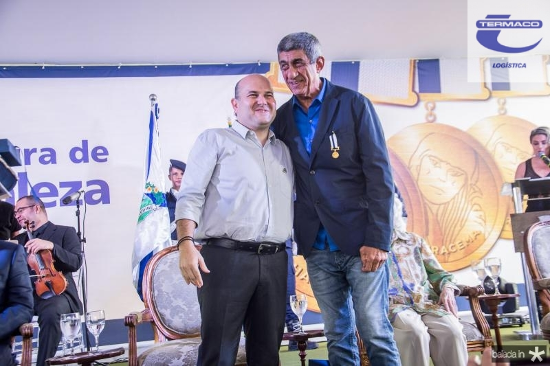 Roberto Claudio e Fagner Lopes (