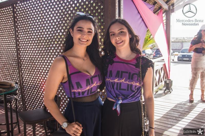 Isabela Carneiro e Myrella Brilhante