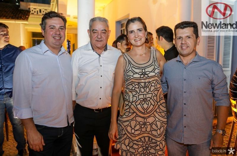 Samuel Dias, Adail Fontenele, Manoela Nogueira e Erick Vasconcelos