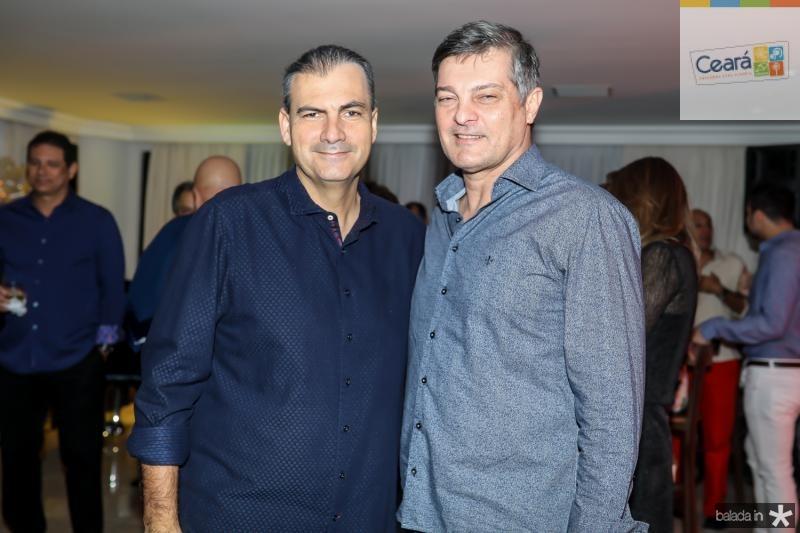 Alexandre Sales e Cid Marconi