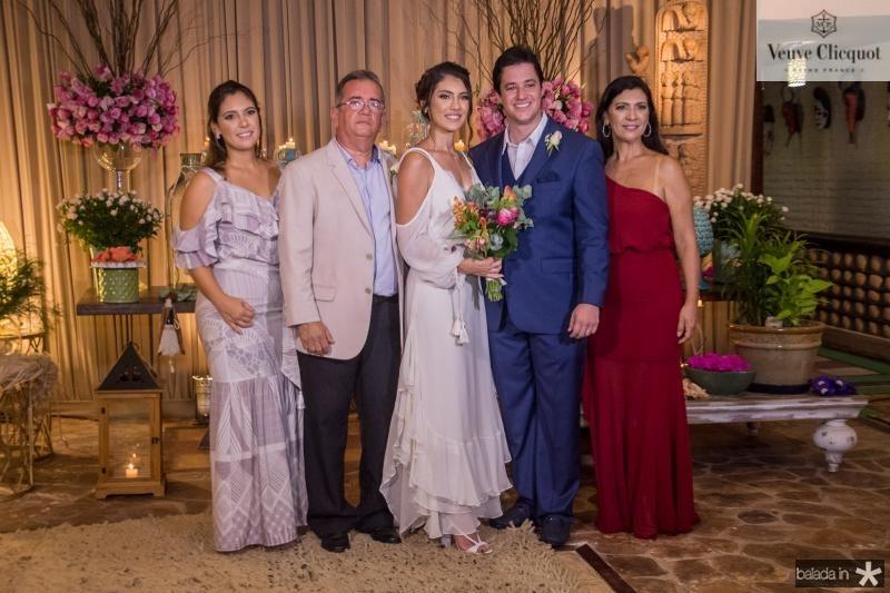 Maria Claudia, Viana Junior, Carla Braga, Joao Cabral Filho e Ana Claudia Braga