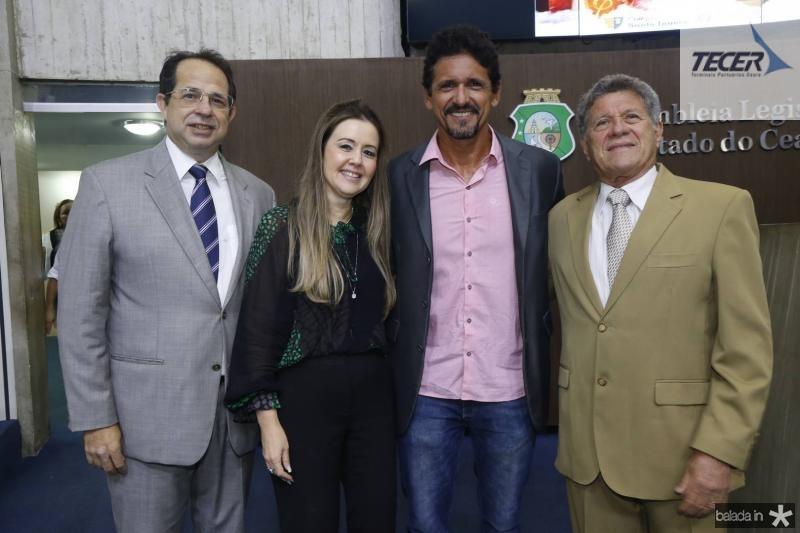Joao Milton, Liana Fujita, Roberto Lopes e Airton Fernandes