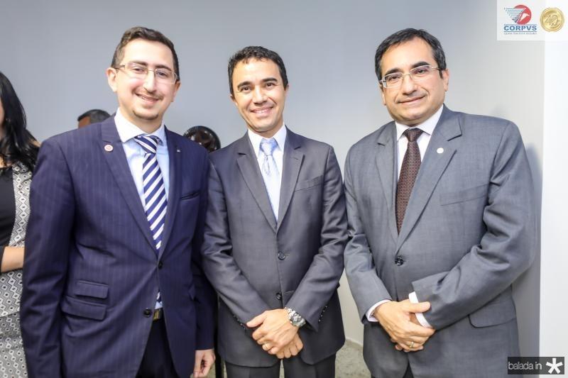 Roberto Victor Ribeiro, Placido Rios e Jardson Cruz