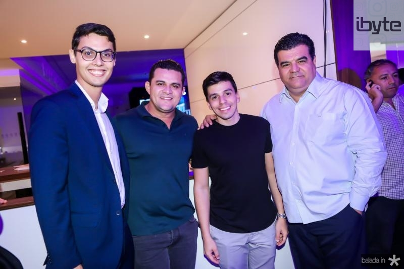 Lucio Salazar, Izaias Duarte, Edimar e Odimar Feitosa