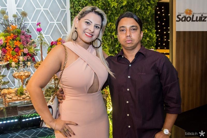 Erislandia Dias e Carlos Henrique
