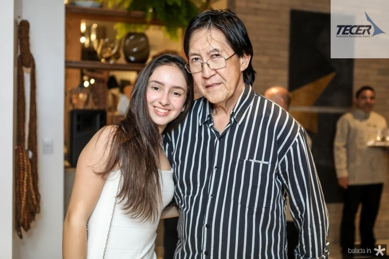 Leticia Cidroa e Eduardo Penland