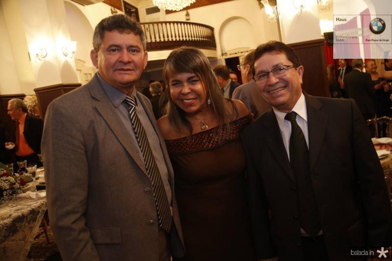 Francisco Everton, Selma Cabral e Alcir Porto