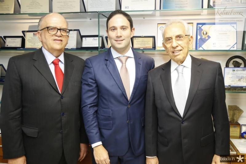 Fernando Ximenes, Thiago Asfor e Paulo Ponte