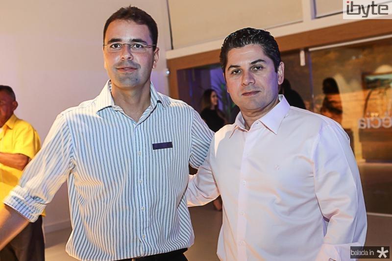 Silvio Coelho e Pompeu Vasconcelos