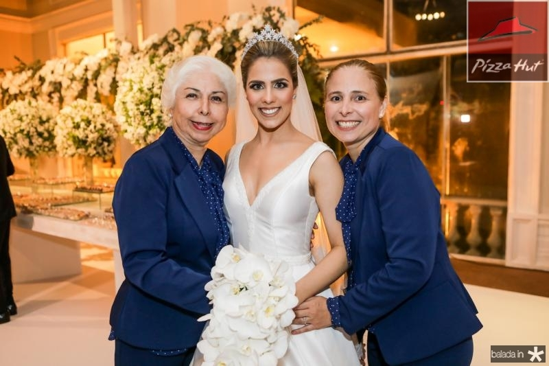 Alodia Guimaraes, Roberta Martins e Samira Guimaraes